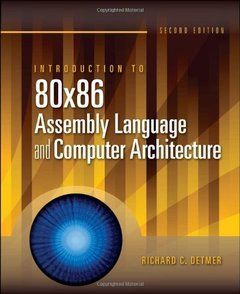 Introduction to 80x86 Assembly Language and Computer Architecture (Hardcover)-cover