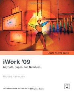 Apple Training Series: iWork 09 (Paperback)-cover