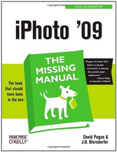 iPhoto'09: The Missing Manual (Paperback)-cover