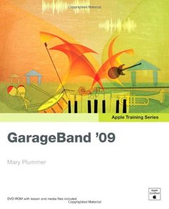 Apple Training Series: GarageBand 09 (Hardcover)-cover