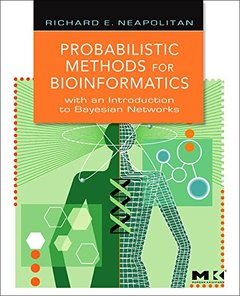 Probabilistic Methods for Bioinformatics: With an Introduction to Bayesian Networks (Hardcover)-cover