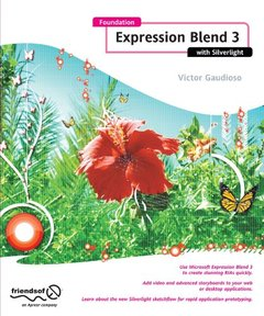 Foundation Expression Blend 3 with Silverlight (Paperback)-cover