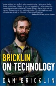 Bricklin on Technology (Paperback)-cover