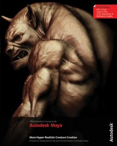 More Autodesk Maya Hyper-Realistic Creature Creation (Paperback)-cover
