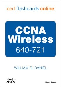 CCNA Wireless 640-721 Cert Flash Cards Online, Retail Packaged Version-cover