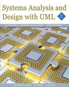 Systems Analysis and Design With UML: An Object-Oriented Approach, 3/e (IE-Paperback)-cover