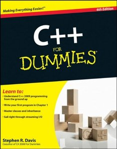 C++ For Dummies, 6/e (Paperback)-cover
