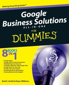 Google Business Solutions All-in-One For Dummies (Paperback)-cover