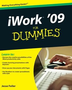 iWork 09 For Dummies (Paperback)-cover