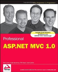 Professional ASP.NET MVC 1.0 (Paperback)-cover