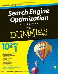 Search Engine Optimization All-in-One Desk Reference For Dummies (Paperback)-cover