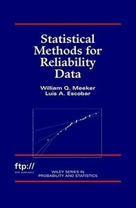 Statistical Methods for Reliability Data (Hardcover)-cover