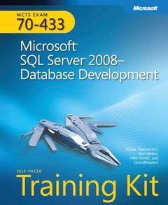MCTS Self-Paced Training Kit (Exam 70-433): Microsoft SQL Server 2008 Database Development (Hardcover)-cover