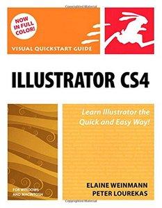 Illustrator CS4 for Windows and Macintosh: Visual QuickStart Guide (Paperback)-cover