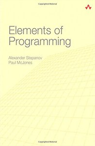 Elements of Programming (Hardcover)-cover
