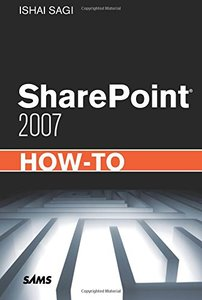 SharePoint 2007 How-To (Paperback)-cover