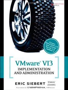 VMware VI3 Implementation and Administration (Paperback)-cover