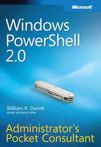 Windows PowerShell 2.0 Administrator's Pocket Consultant (Paperback)-cover