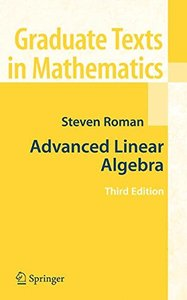 Advanced Linear Algebra, 3/e (Hardcover)-cover