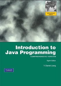 Introduction to Java Programming, Comprehensive Version, 8/e (IE-Paperback)-cover