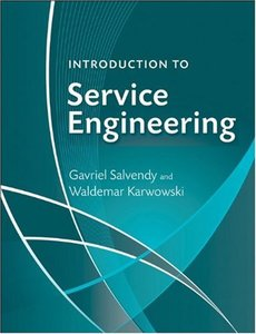 Introduction to Service Engineering (Hardcover)-cover