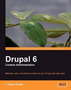 Drupal 6 Content Administration (Paperback)-cover