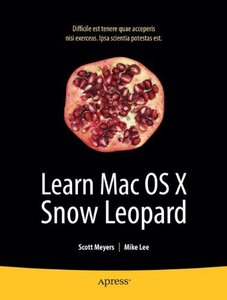 Learn Mac OS X Snow Leopard (Paperback)-cover