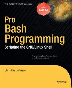 Pro Bash Programming: Scripting the GNU/Linux Shell (Paperback)-cover