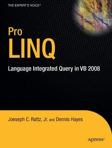 Pro LINQ: Language Integrated Query in VB 2008-cover