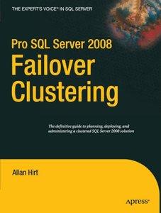 Pro SQL Server 2008 Failover Clustering (Paperback)-cover