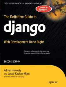 The Definitive Guide to Django: Web Development Done Right, 2/e (Paperback)-cover