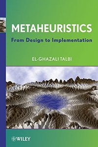 Metaheuristics: From Design to Implementation (Hardcover)-cover