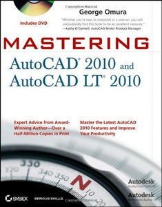 Mastering AutoCAD 2010 and AutoCAD LT 2010 (Paperback)-cover