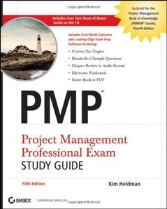 PMP: Project Management Professional Exam Study Guide, 5/e (Paperback)-cover