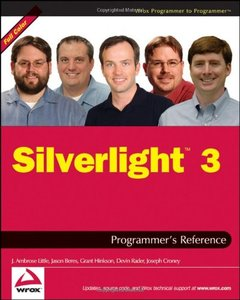 Silverlight 3 Programmer's Reference (Paperback)-cover