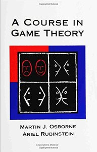 A Course in Game Theory (Paperback)-cover