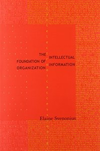 The Intellectual Foundation of Information Organization (Paperback)-cover