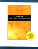 Principles of Auditing and Other Assurance Services, 17/e(IE-Paperback)(美國版ISBN: 0073379654)