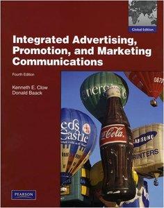 Integrated Advertising, Promotion and Marketing Communications,4/e (IE-Paperback)(美國版ISBN: 0136079423)