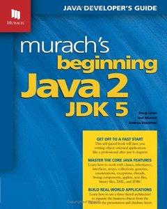 Murach's Beginning Java 2, JDK 5 (Paperback)-cover
