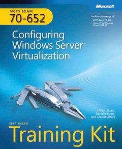 MCTS Self-Paced Training Kit (Exam 70-652): Configuring Windows Server Virtualization (Paperback)-cover