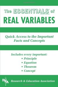 Real Variables (Paperback)-cover