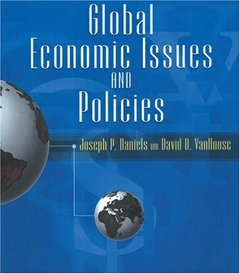 Global Economic Issues and Policies with Economic Applications (Hardcover)-cover
