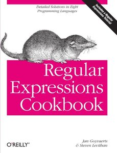 Regular Expressions Cookbook (Paperback)-cover