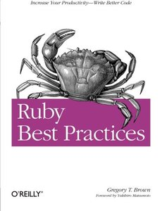 Ruby Best Practices (Paperback)-cover