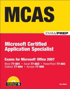 MCAS Office 2007 Exam Prep: Exams for Microsoft Office 2007 (Paperback)-cover