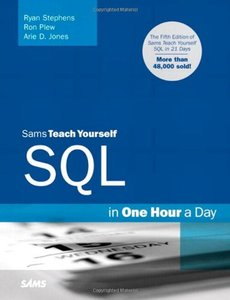 Sams Teach Yourself SQL in One Hour a Day, 5/e (Paperback)-cover