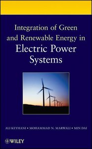 Integration of Green and Renewable Energy in Electric Power Systems (Hardcover)-cover