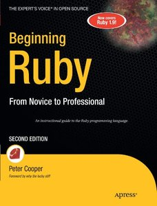 Beginning Ruby: From Novice to Professional, Second Edition (Beginning from Novice to Professional)-cover