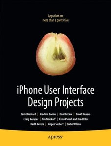iPhone User Interface Design Projects (Paperback)-cover
